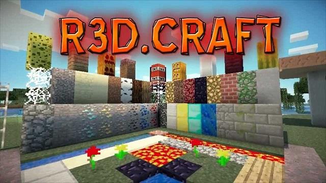 Download R3D.CRAFT Resource Packs - bringing realistic textures