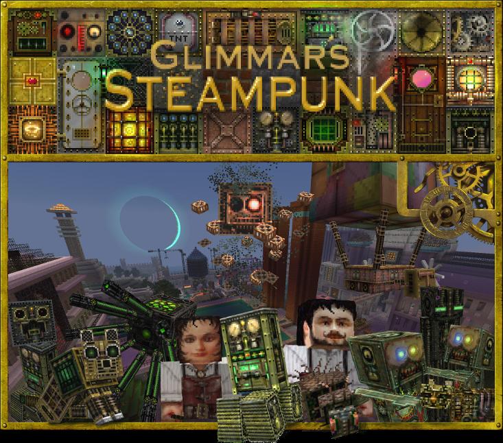 Download Glimmar's Steampunk Resource Packs