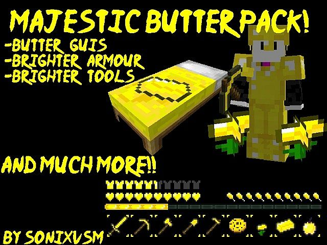 Download Majestic Butter Resource Packs