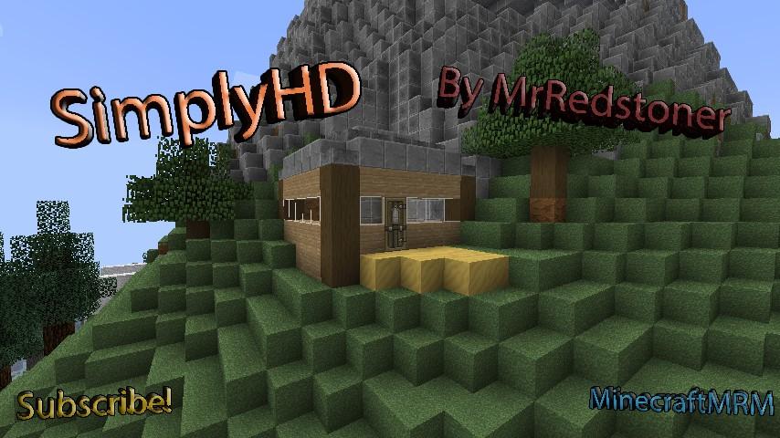 Download Mcan's Simply HD Resource Packs