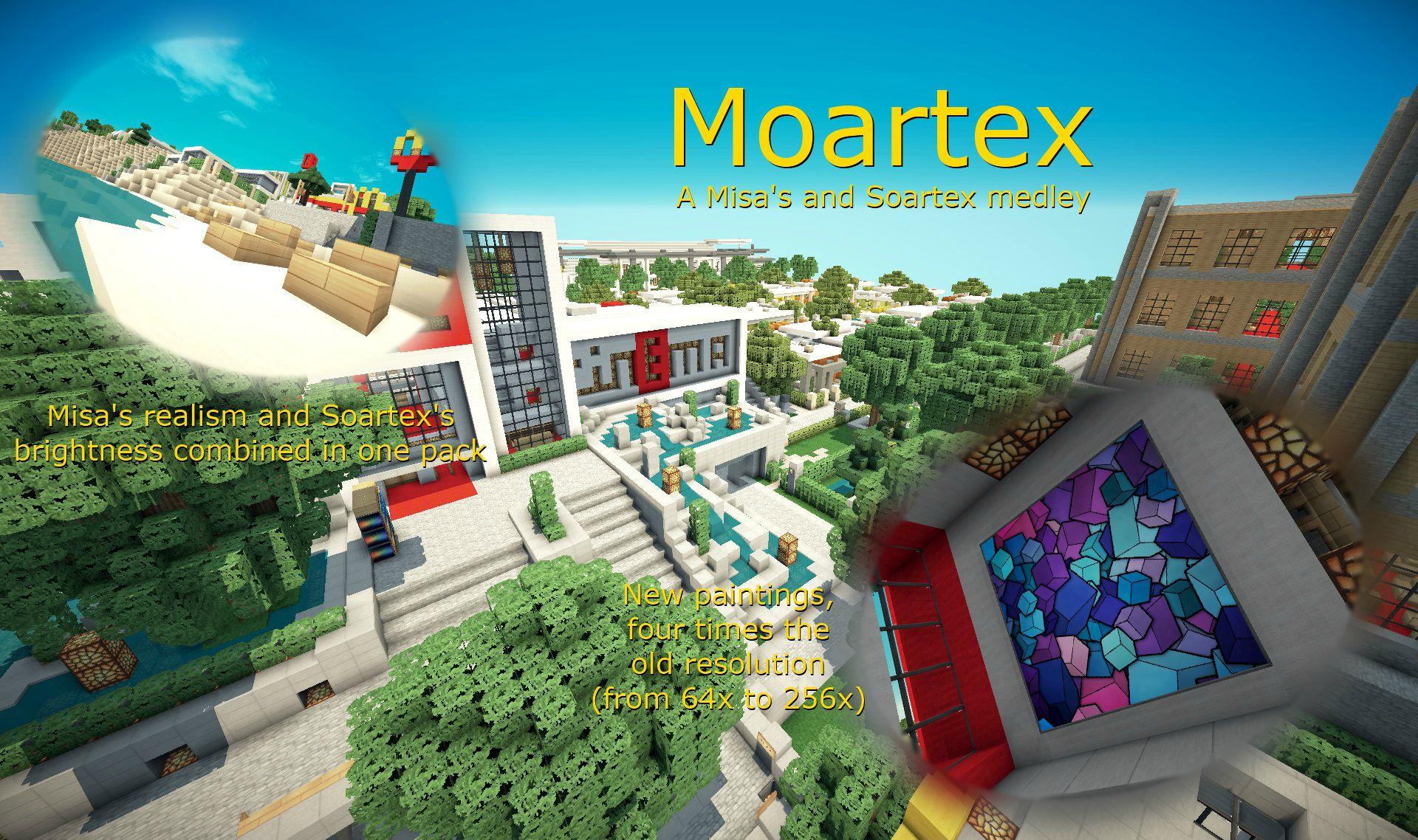 Download Moartex Resource Packs