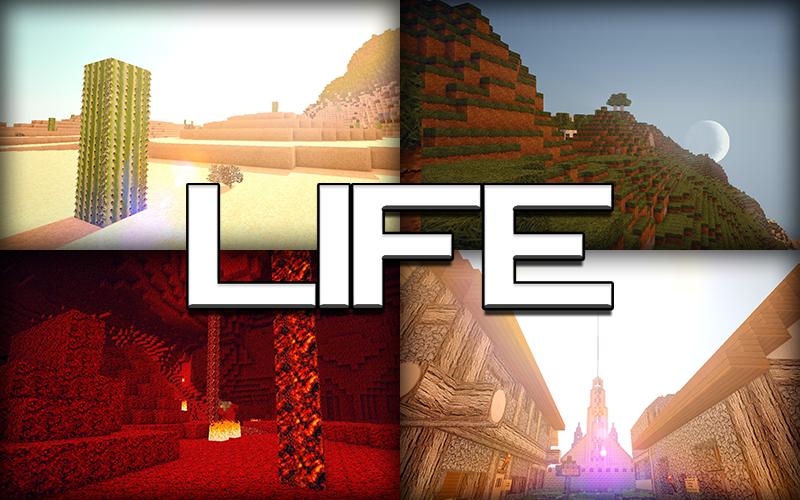 Download Life HD Resource Packs 1.5.2